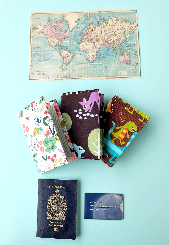 5 cách làm bao đựng passport bằng những nguyên liệu đơn giản: vải