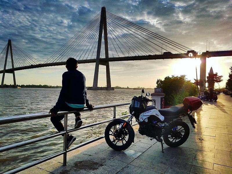 phượt xe máy đến bến tre
