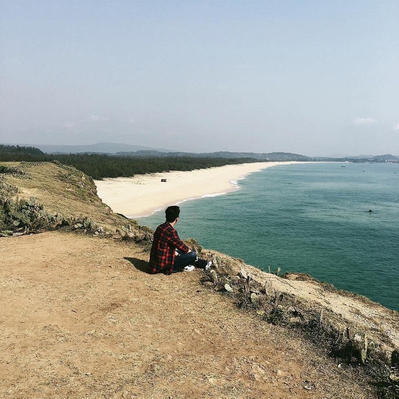 bãi biển vĩnh rô phú yên