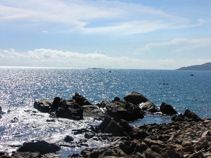 cảnh biển quy nhơn