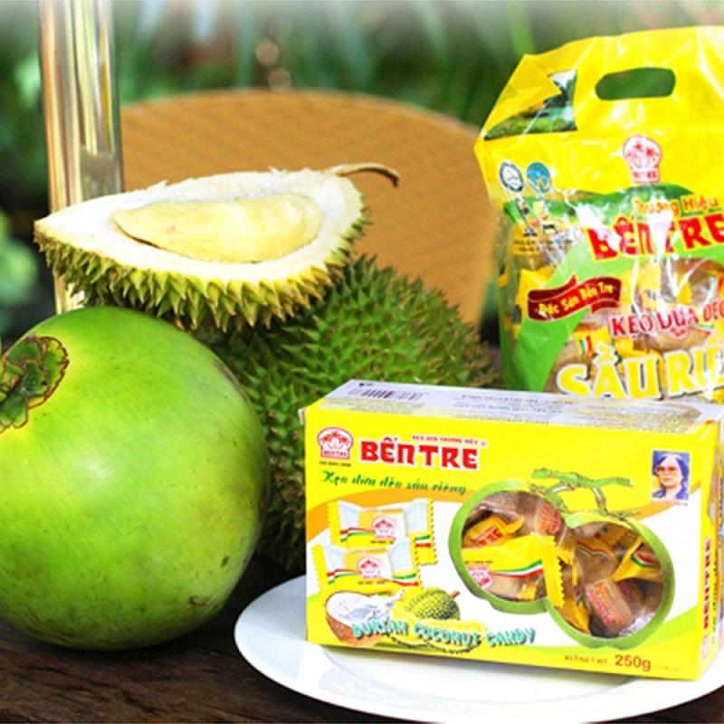 kẹo dừa cồn phụng bến tre