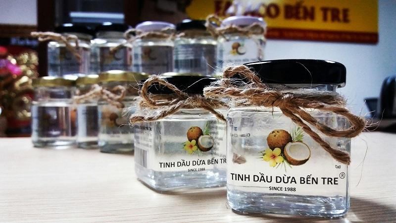 đặc sản bến tre dầu dừa