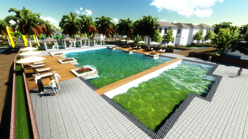 forever green resort bến tre